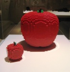 The-Art-Of-The-Brick-Red-Apple-Lego-Creation