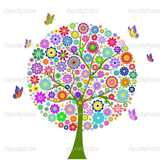 depositphotos_8711634-Colorful-flower-tree-isolated-on-white-background