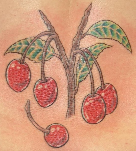 small-cherry-tree-tattoo