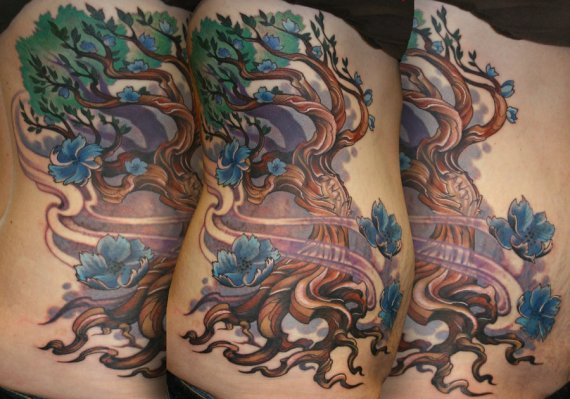 twisted_tree_tattoo_by_phedre1985-d4t6jhq