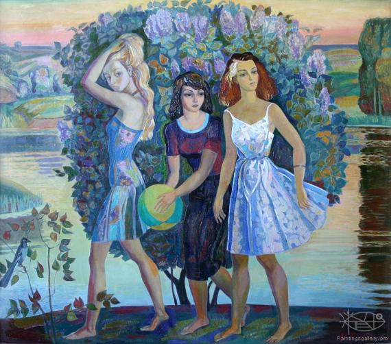 www.PaintingsGallery.pro_Bikulov_Nurhatim_Lilac_medium_224962