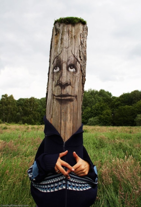 Amazing Tree Wood Art by Duo Zonenkinder (1)