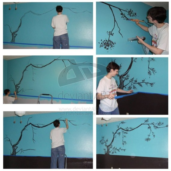 Cherry_Tree_Mural_by_FluffyNabs