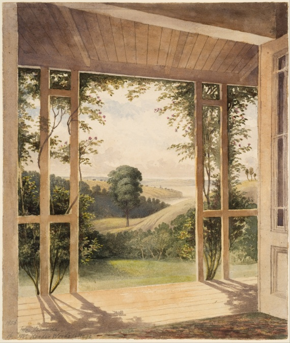 John_Kinder_-_Auckland,_from_the_Verandah_of_Mr_Reader_Wood's_Cottage_-_Google_Art_Project