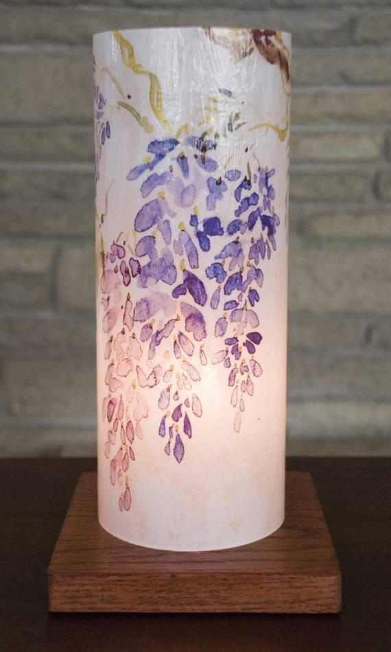 Lamp7-10inch--Wisteria