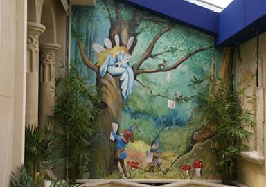 mural-faeries