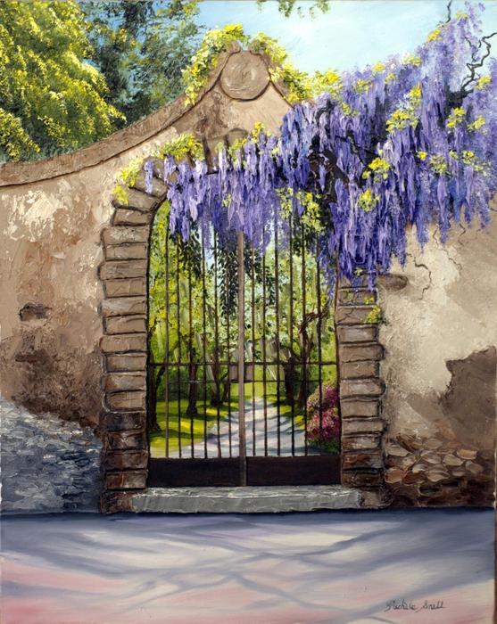 wisteria-gate-michele-snell