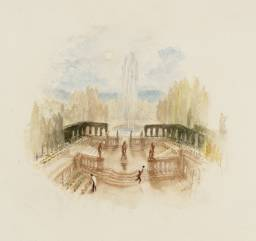 A Garden, for Rogers's 'Poems' circa 1831-2 by Joseph Mallord William Turner 1775-1851