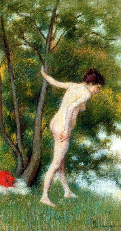 il-bagno-nel-bosco