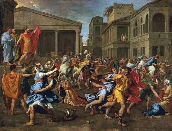 Nicolas_Poussin_-_L'enlèvement_des_Sabines,_1637-38