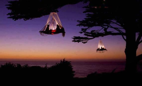 tree camping in elk california