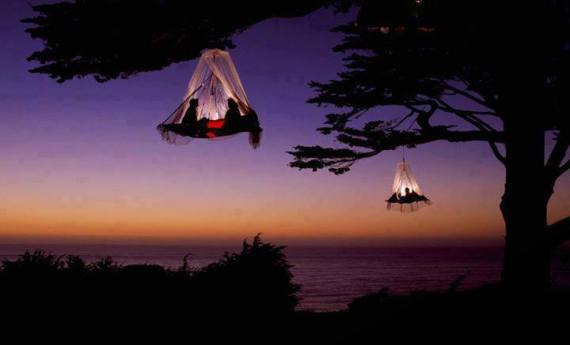 tree camping in elk california