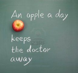 9809262-an-apple-a-day-keeps-the-doctor-away-words-on-blackboard