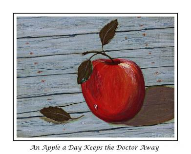 an-apple-a-day-keeps-the-doctor-away-barbara-griffin
