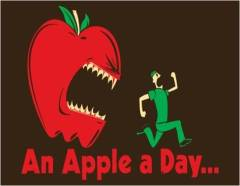 an-apple-a-day-t-shirt-7WgvVF