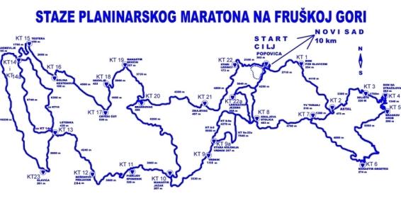 Staze-planinarskog-maratona-na-Fruškoj-Gori