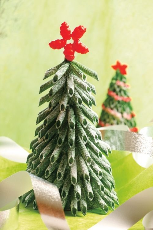 diy-mini-christmas-tree-tabletop-green-fake-snow