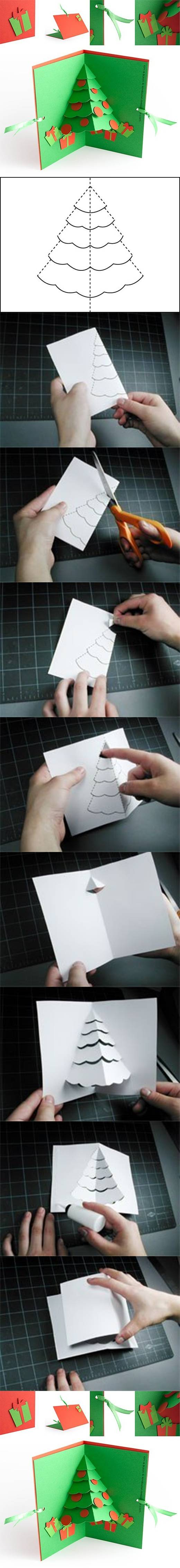 DIY-Christmas-Tree-Pop-Up-Card (1)