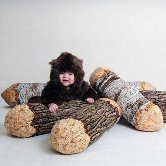 log-pillow